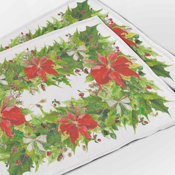 Placemats / Poinsettia