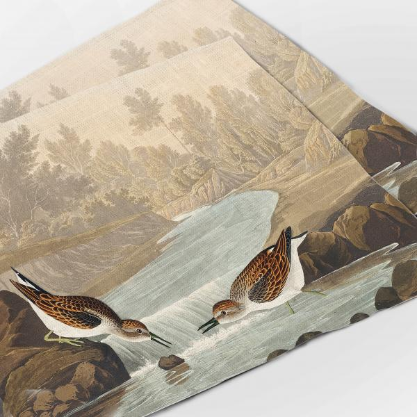 Placemats set / Little Sandpiper from Birds of America