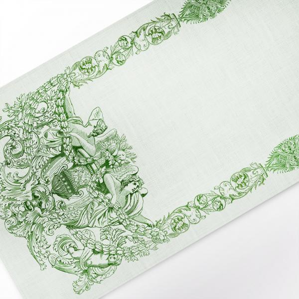 Table runner / Ancient Green