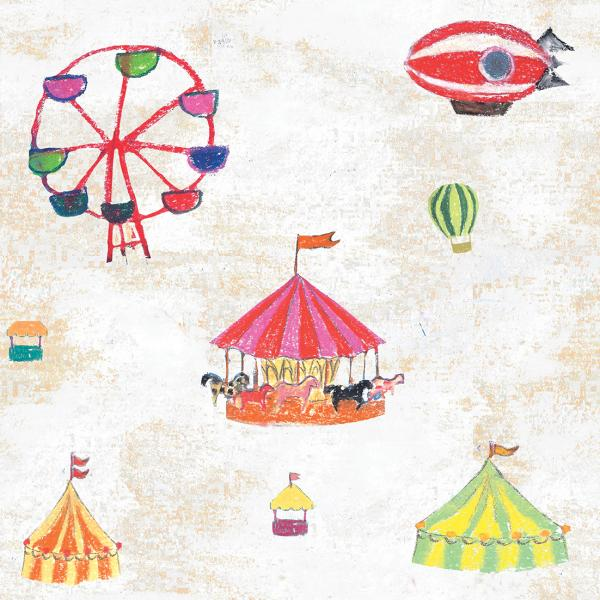Carousel (White background)
