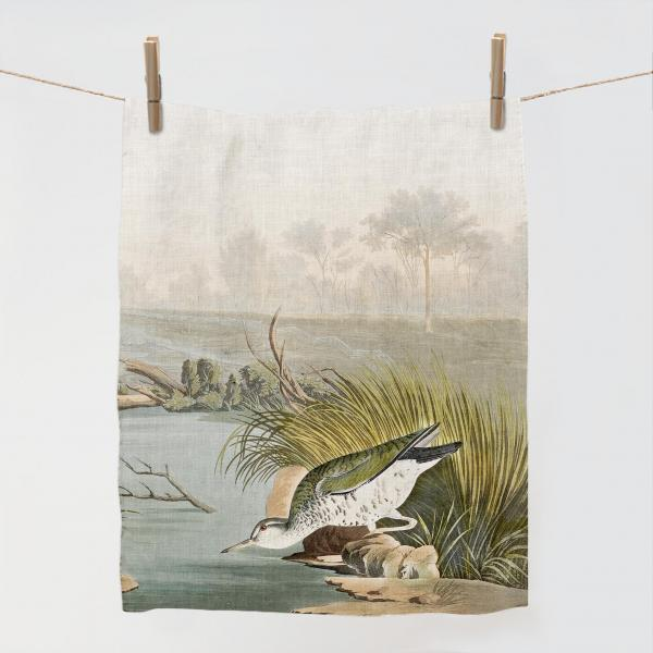 Kitchen towel / Spotted Sandpiper