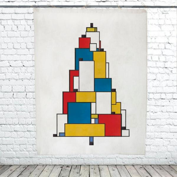 Christmas Tree / Mondrian II