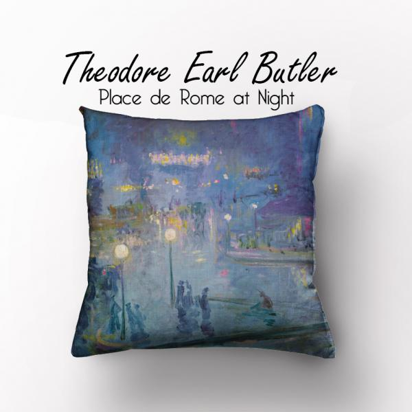Cushion cover / Teodore Earl Butler