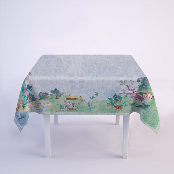 "Tablecloth ""Lithuanian fairy tales"""