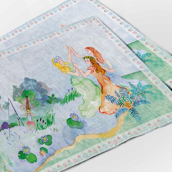 "Placemats ""Lithuanian fairy tales"""