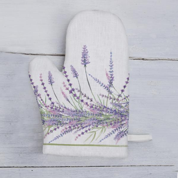 "Kitchen glove ""Lavender"""